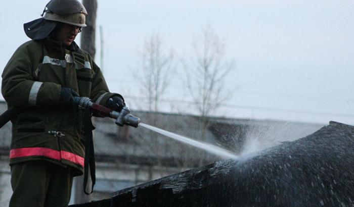 В Ангарске горел банкетный зал