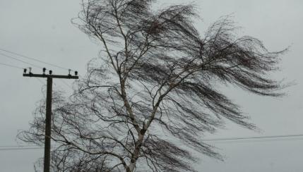 ВИркутской области объявлено штормовое предупреждение
