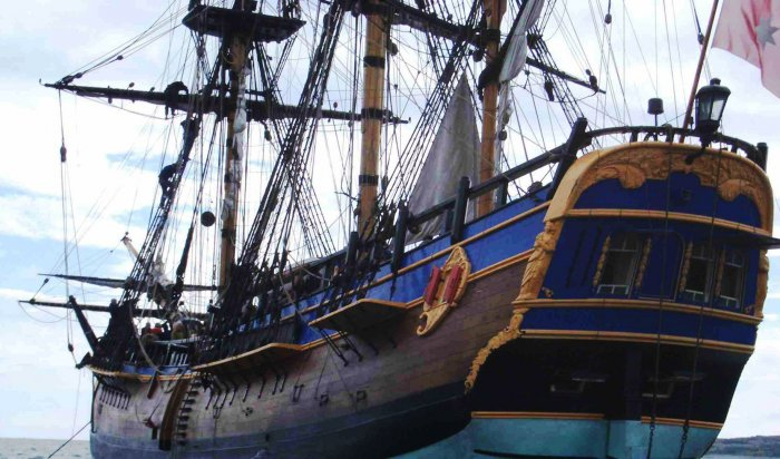 Надне гавани Ньюпорта обнаружен легендарный корабль Джеймса Кука