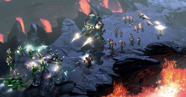 Анонсирована стратегия Warhammer 40 000: Dawn ofWar 3