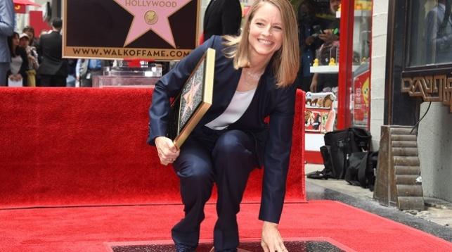 Джоди Фостер получила именную звезду на«Аллее славы» вГолливуде