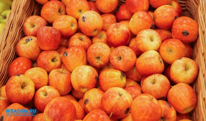 В Иркутске уничтожили более двух тонн яблок из Польши