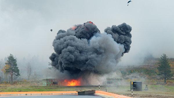 В Харькове на базе полицейской роты произошел взрыв