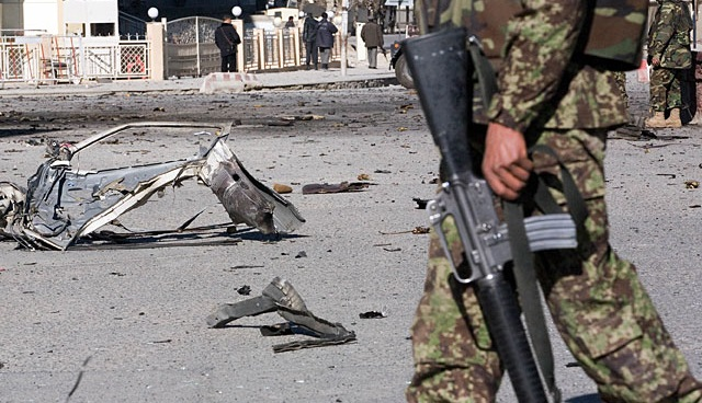 Врезультате взрыва вАфганистане погибли десять человек