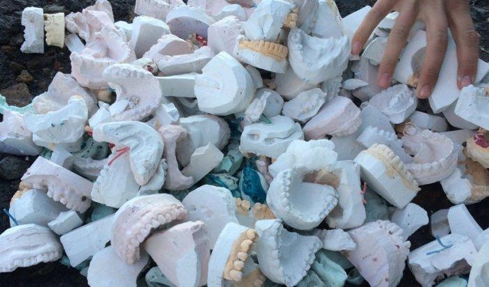 ВБарнауле стоматологи засыпали ямы надорогах слепками зубов