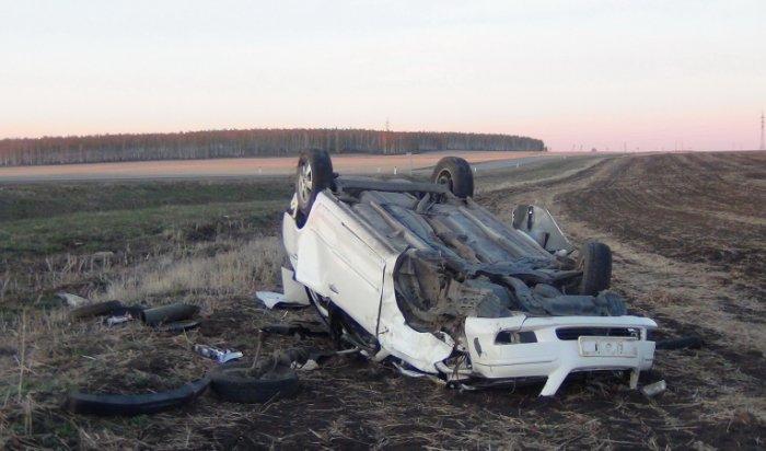 Страшное ДТП случилось в Черемховском районе: два человека погибли, четверо пострадали