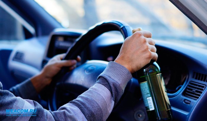 За прошедшие выходные в Иркутской области задержано 170 пьяных водителей
