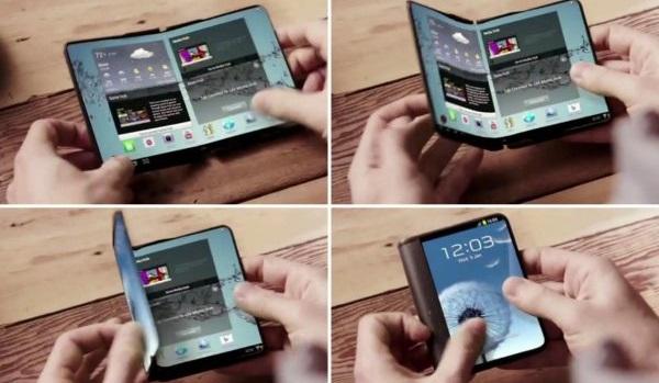 Samsung Galaxy Xсгибким 4К-дисплеем выйдет в2017году