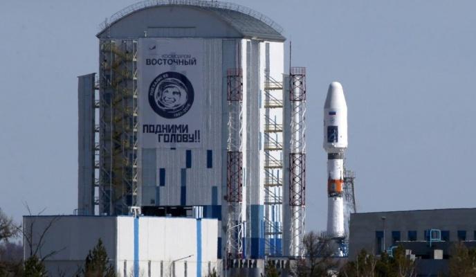 Роскосмос опубликовал видео бортовых камер первого пуска с«Восточного»