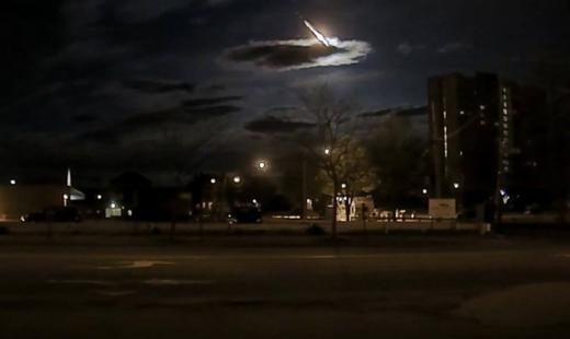 Небольшой метеорит упал натерритории штата Мэн