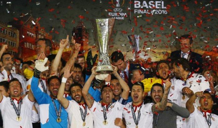 «Севилья» выиграла Лигу Европы третий год подряд