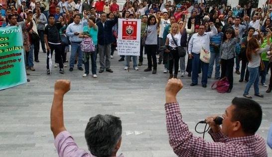 ВМексике могут уволить более трех тысяч учителей заучастие взабастовке