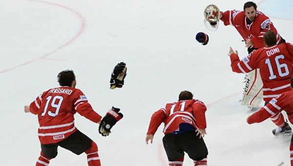 Сборная Канады стала чемпином мира по хоккею