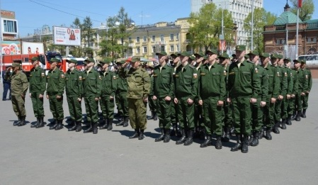 Более тысячи человек приняли участие в едином Дне призывника в  Иркутске