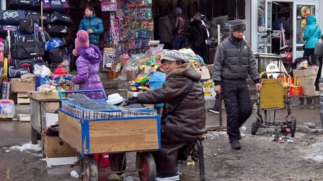 В Иркутске начался снос торговых рядов бывшей «Шанхайки»