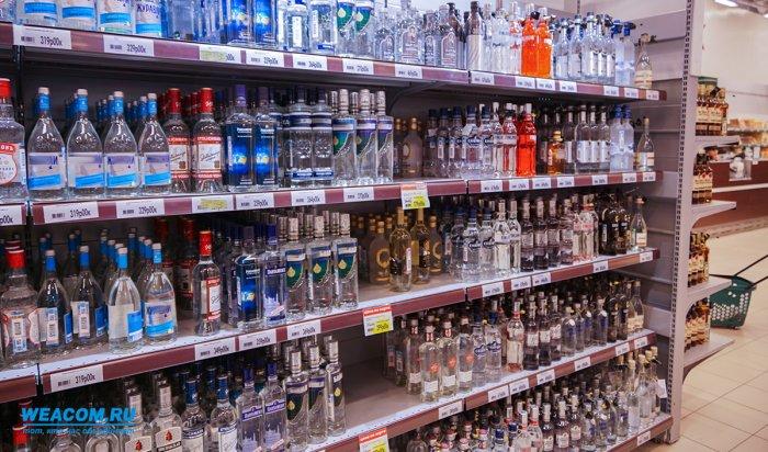 В Ангарске полиция изъяла почти две тысячи литров алкоголя