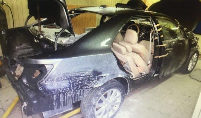 Иркутянин инсценировал кражу авто, чтобы получить миллион рублей от страховой компании