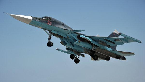 Российский боевой самолёт нанёс удар понефтеперерабатывающему заводу ИГвСирии