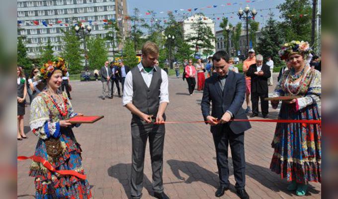 Пункт информационно-туристской службы открылся в центре Иркутска