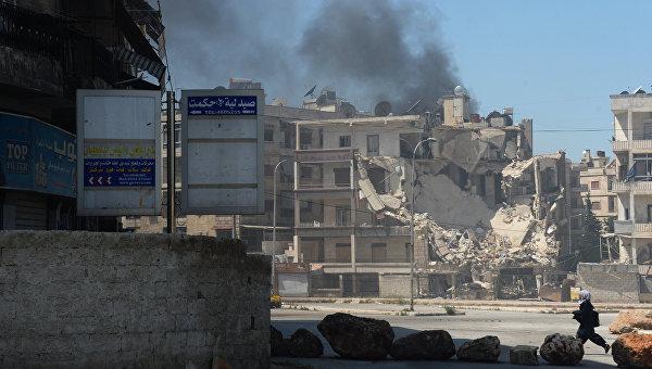 Боевики обстреляли Алеппо изминометов