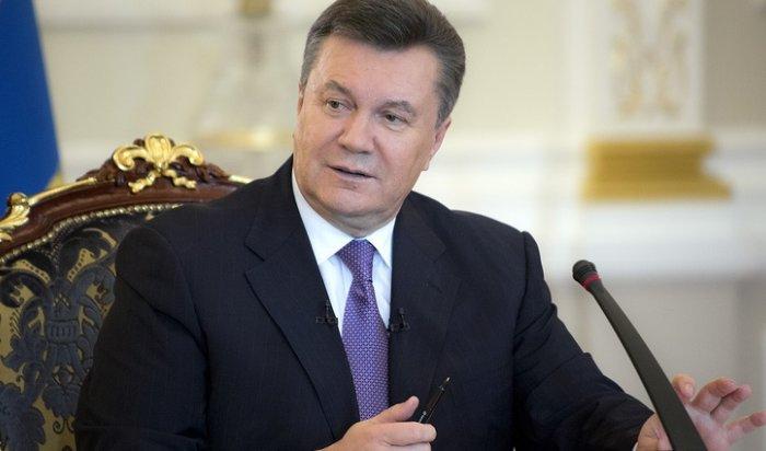 Генпрокуратура РФ отказалась выдать Януковича властям Украины
