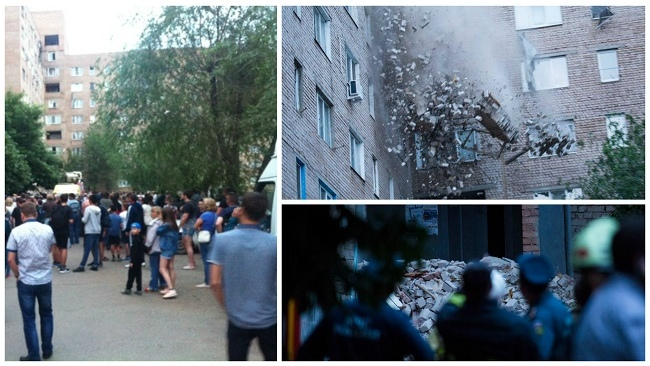 ВОренбурге объявлен режим ЧСпосле взрыва бытового газа вжилом доме
