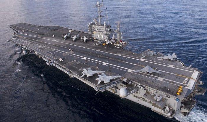 WSJ: «Переброска американского авианосца Harry Truman— это предупреждение России»