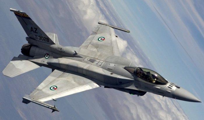 Два реактивных истребителя F-16столкнулись внебе вСША