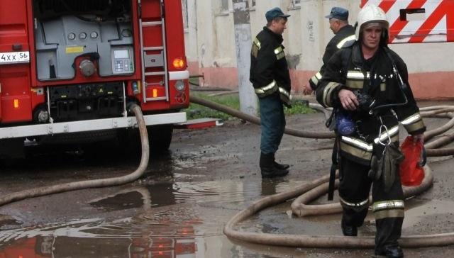 Висправительной колонии вИркутской области загорелся цех