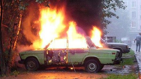 ВСлюдянке задержаны подростки, которые угоняли и сжигали автомобили