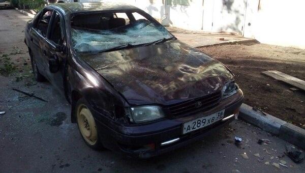 Неизвестные хулиганы разбили автомобиль вИркутске