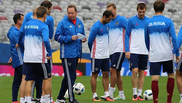 Российскую сборную пофутболу ждёт матч против команды Уэльса