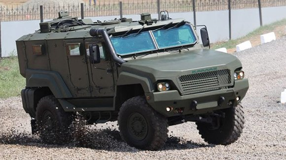 Нацгвардия закупит новые броневики «Патруль»