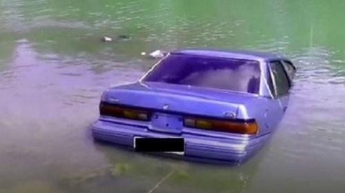 Ангарчанин во время рыбалки едва не лишился автомобиля