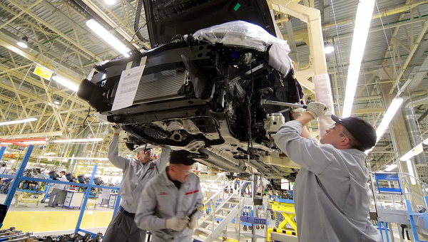 В Петербурге Nissan начал выпуск  кроссовера  нового поколения