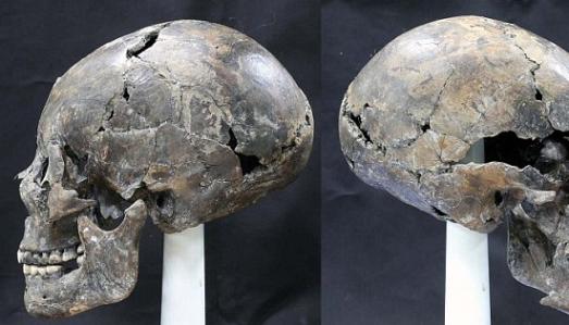 Корейские археологи нашли женский череп необычной формы