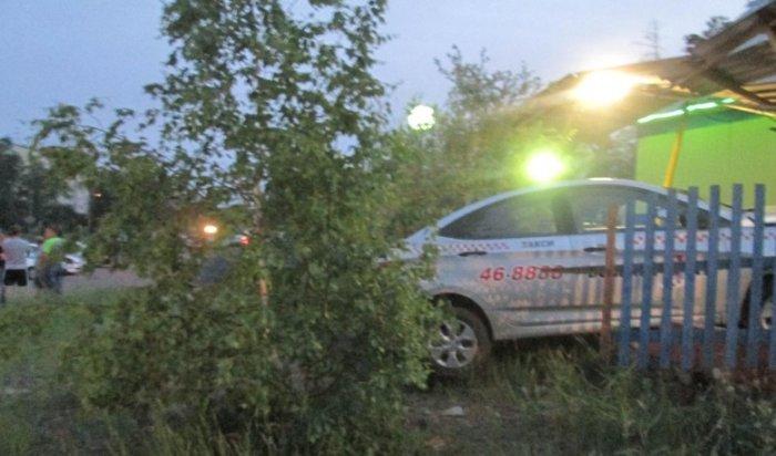 ВБратске задержали угонщиков, напавших натаксиста