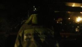 ВБратском районе сгорел автомобиль