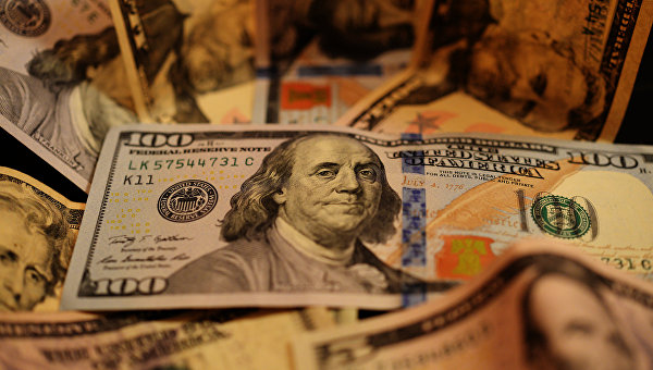 Биржевой курс доллара вырос на2рубля