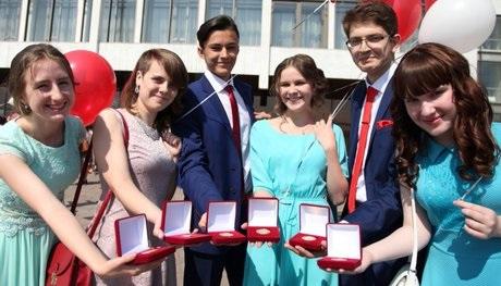 ВПриангарье 542выпускника окончили школу сзолотыми медалями