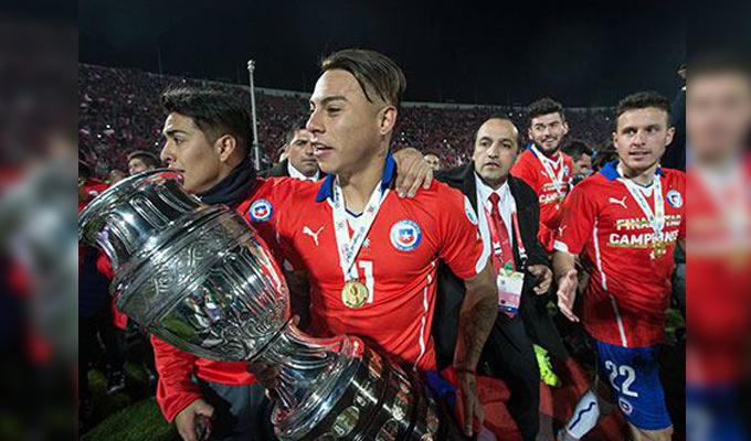 Чилийцы стали обладателями Кубка Америки пофутболу