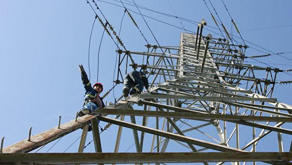 Украина просит Россию обэкстренных поставках электроэнергии