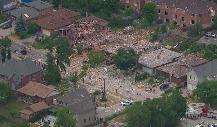 Вканадской Миссиссоге взрывами разнесло несколько домов