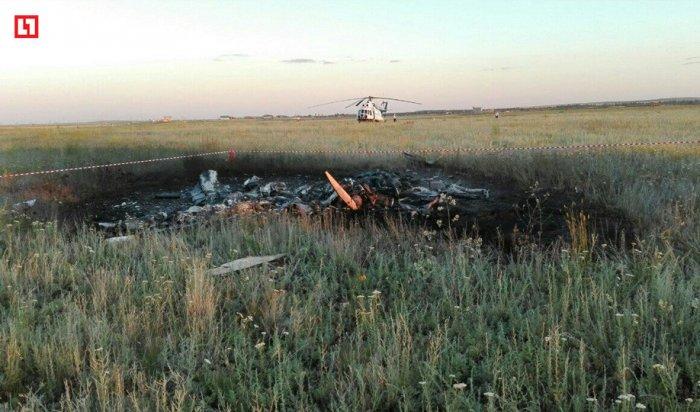 Под Оренбургом разбился легкомоторный самолет