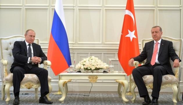 Путин поручил начать переговоры сТурцией овозобновлении сотрудничества