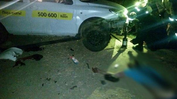 Водитель такси «Максим» погиб вДТП вАнгарске