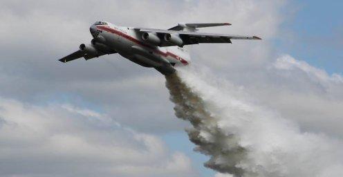 Пропавший самолет Ил-76 ищут более 400 человек и 28 единиц техники