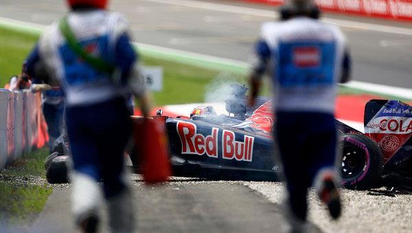 Даниил Квят разбил машину вквалификации Гран-при Австрии