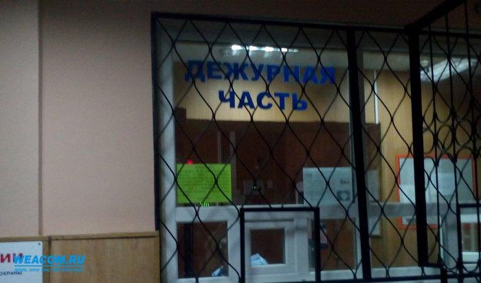 Задержан подозреваемый в похищении мотоцикла и велосипеда у жителя Ангарска