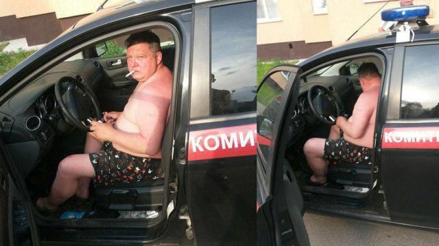 В Петербурге сотрудника СК уволили за пьяную езду на служебном автомобиле